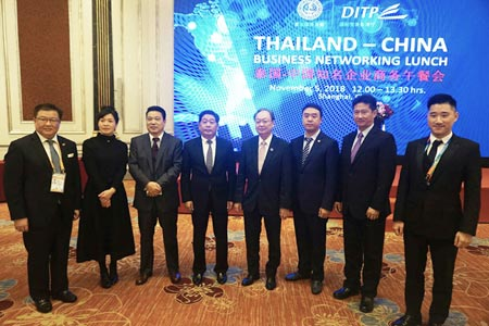 The Ministry of Commerce partners with top Chinese companies, leads Thai entrepreneurs to Chinese market.